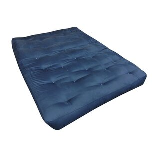 9 Foam and Cotton Cot Size Futon Mattress