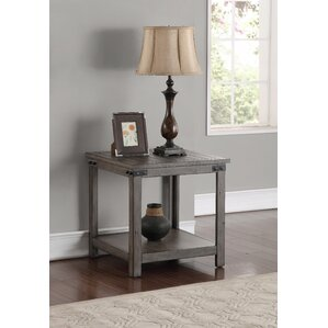 Jigna End Table by Gracie Oaks