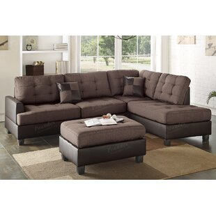 Giuliana Reversible Sectional with Ottoman