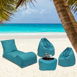 Summer Days Outdoor Waterproof Bean Bag Set By Latitude Run