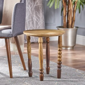 Jerada Wood End Table by Bungalow Rose