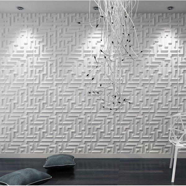 Orren Ellis Heissenberger 19 7 X 19 7 Bamboo Wall Paneling In White Wayfair