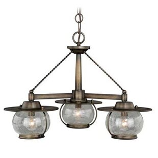 Williston Forge Karole 3-Light Shaded Chandelier
