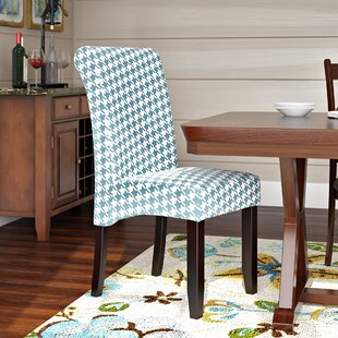 Dimmick Upholstered Parsons Chair (Set Of 2) By Red Barrel Studio