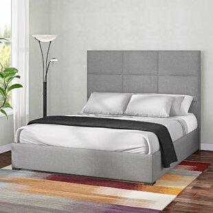 Handley Upholstered Panel Bed by Brayden Studio