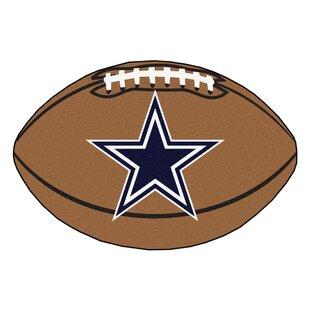 NFL - Dallas Cowboys Football Mat ByFANMATS