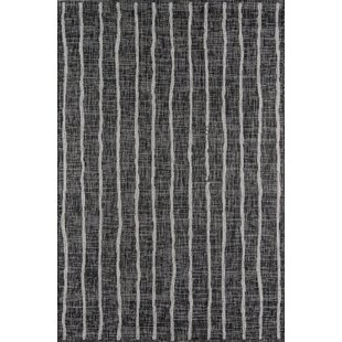 Sicily Charcoal Indoor/Outdoor Area Rug