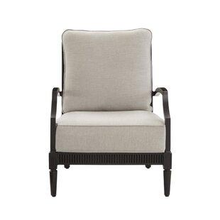 Euston Patio Chair with Cushion (Set of 2)