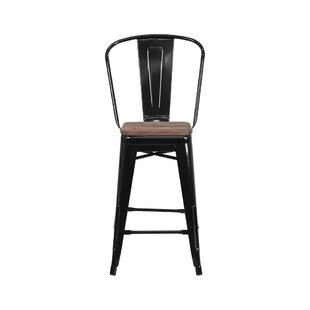 Ilene 24 Bar Stool Williston Forge