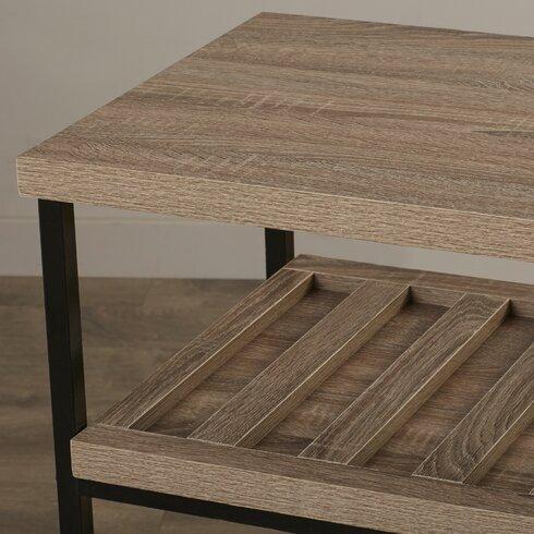 Comet Kitchen Cart With Wooden Top