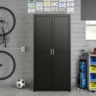 Callahan 74 H x 36 W x 15 D Storage Cabinet by Ameriwood Home