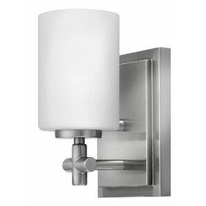 Laurel 1 Light Bath SconceHinkley Lighting   Wayfair. Bathroom Sconce Lighting. Home Design Ideas
