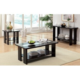 Nickens 3 Piece Coffee Table Set by Latitude Run