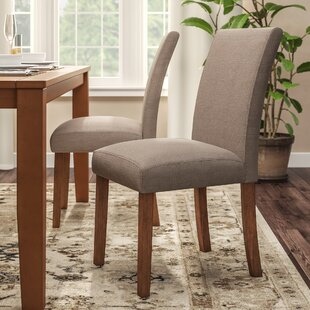 Satchell Parsons Upholstered Dining Chair (Set of 2) Alcott Hill