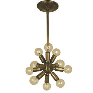 Framburg Simone 11-Light Sputnik Chandelier