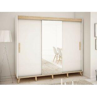 Bridgette 3 Door Sliding Wardrobe By Isabelline