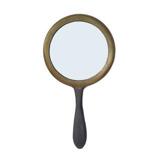 Gracie Oaks Petti Round Accent Mirror
