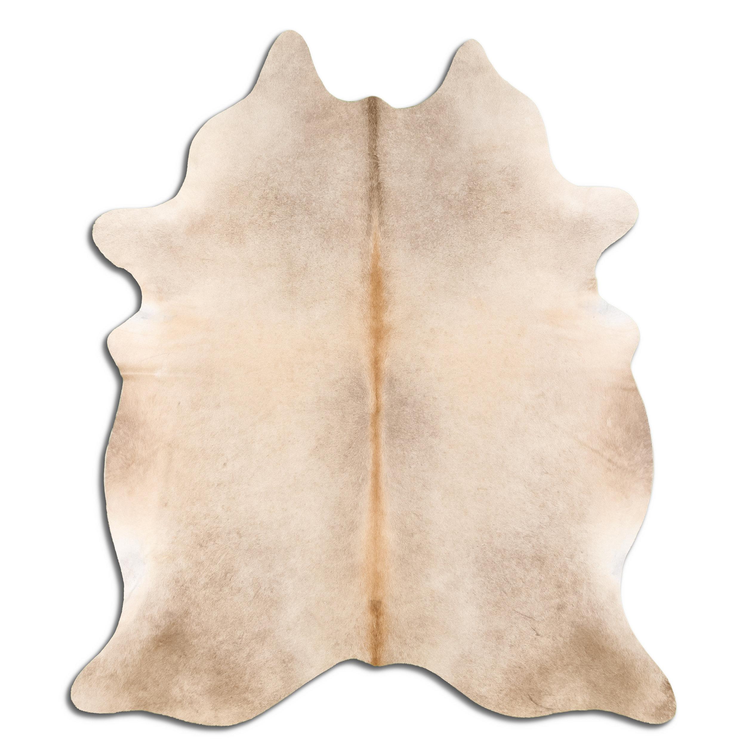 Foundry Select Amirah Handmade Cowhide Beige Area Rug Wayfair