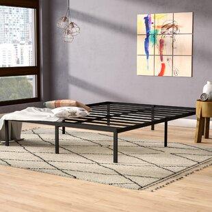 Affordable 14 Metal Steel Bed Frame ByAlwyn Home