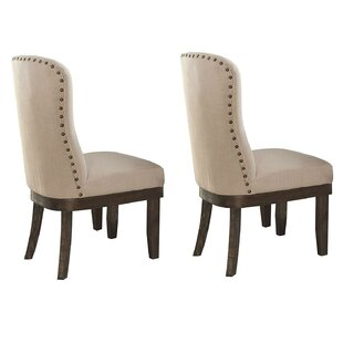 Loehr Upholstered Dining Chair (Set of 2)