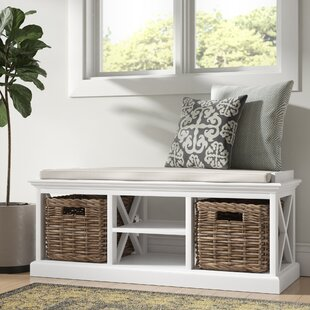 Sroda Wood Storage Bench by Beachcrest Home