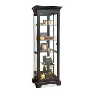 Philip Reinisch Co. Newport Lighted Curio Cabinet