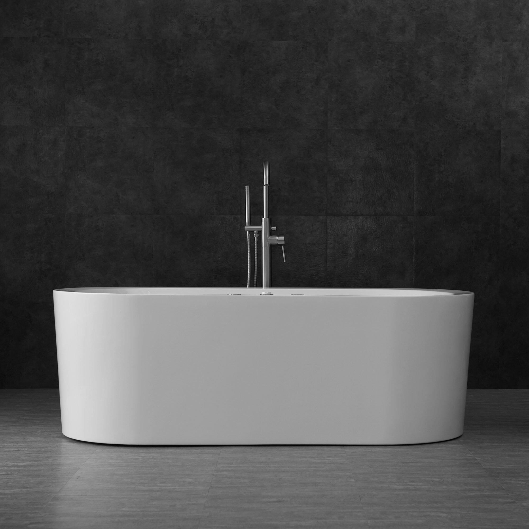 Woodbridge F-0002 Deluxe Freestanding Faucet Chrome