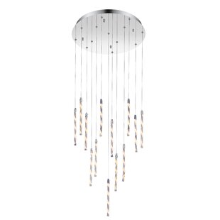 Aegeus 1-Light LED Pendant by CWI Lighting