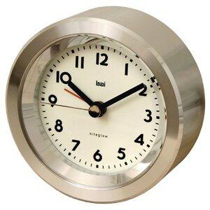 Landmark Astor Aluminium Travel Alarm Clock