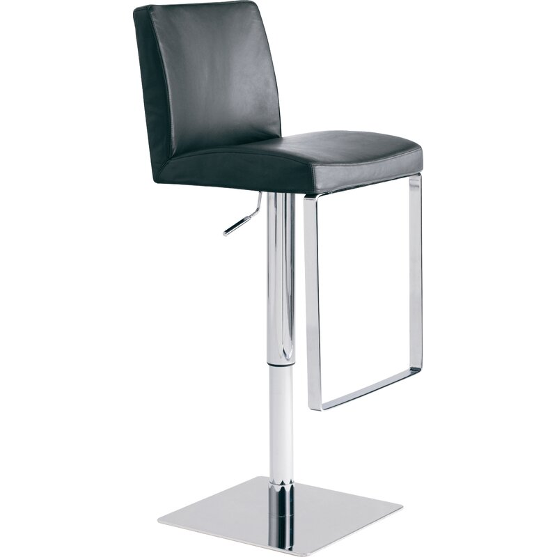 Cool Matteo Adjustable Height Bar Stool Dailytribune Chair Design For Home Dailytribuneorg