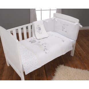 Silvercloud 3-Piece Cot Bedding Set by East Coast