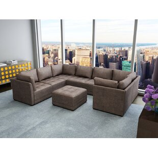 Latitude Run Frampton Modular Sectional with Ottoman