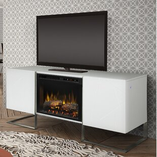Price comparison Chase TV Stand for TVs up to 75 with Fireplace By Dimplex