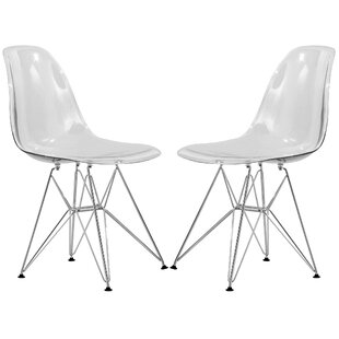 modern contemporary dining chairs with chrome legs allmodern 50s Style Socks quickview