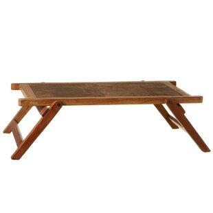 Millwood Pines Vroman Reclaimed Folding Coffee Table