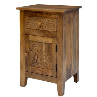 Callimont 1 Door Accent Cabinet by Bungalow Rose