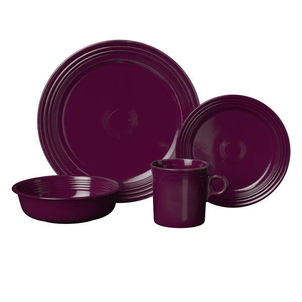 Fiesta Dinnerware Mix 'n' Match 4 Piece Place Setting, Service for 1