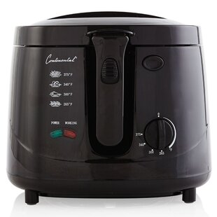 Continental Electric 2.5 Liter Cool Touch Deep Fryer