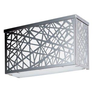 Zipcode Design Mica 4-Light Outdoor Flush Mount