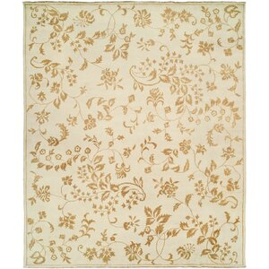 Dumka Hand-Knotted Gold Area Rug