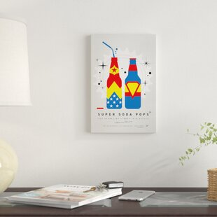 'Super Soda Pops VI' Graphic Art Print on Canvas By East Urban Home