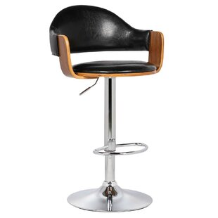 Yvonne Adjustable Height Swivel Bar Stool..