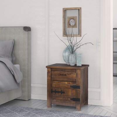 Aden End Table with Storage Bloomsbury Market
