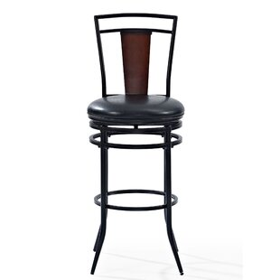 Coupon Belle Haven 44.25 Haven Swivel Bar Stool by Red Barrel Studio Reviews (2019) & Buyer's Guide