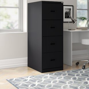 Office 4 Drawer Filing Cabinet By Symple Stuff