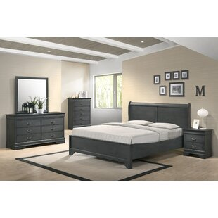 Manorhaven Platform 5 Piece Bedroom Set