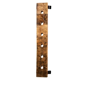 Madilyn 6 Bottle Wall Mounted Wine Bottle Rack by Bloomsbury Market