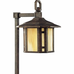 Order Triplehorn 1-Light Brass Pathway Light By Alcott Hill