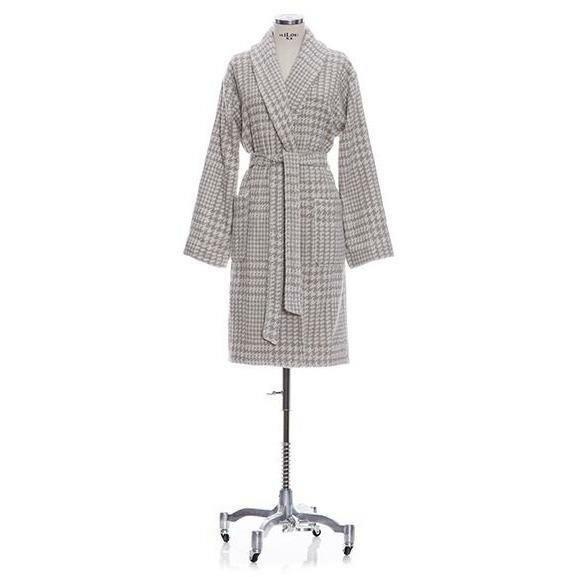 9590f5c5d Gracie Oaks Chism Shawl Collar Cotton Blend Terry Cloth Bathrobe ...