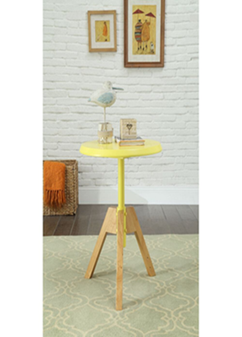 Yellow George Oliver End Side Tables You Ll Love In 2021 Wayfair